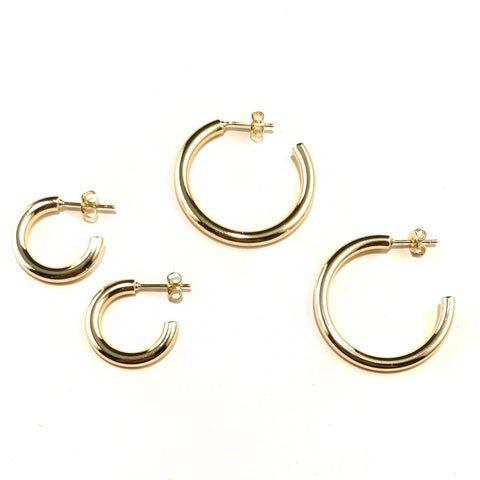 Nikki Smith Designs - Small Tessa Tube Hoops