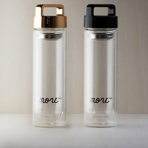 More swing glass Tea Bottle 450ml