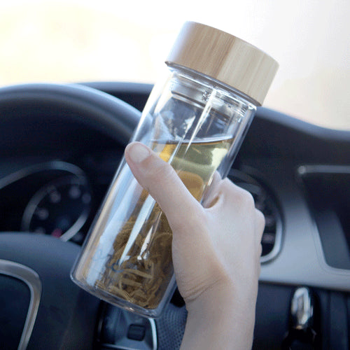 Glass tea bottle 300ml