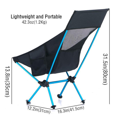 Image of Portable Outdoor Folding Chair