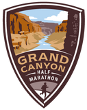 Grand Canyon Half Marathon Magnet