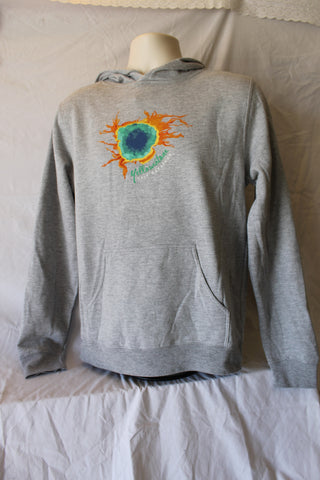 Yellowstone Half Grand Prismatic Spring Sweatshirt