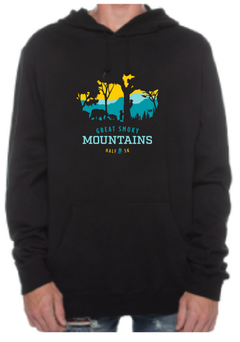 Great Smoky Mountains Peek-a-Boo Trees Sweatshirt