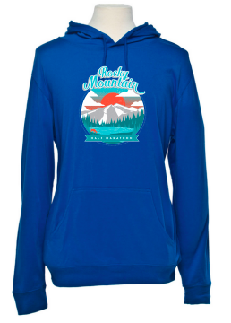 Rocky Mountain Half Sunset Beach Hoodie