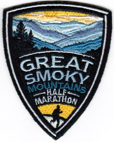 Great Smoky Mountain Half Marathon Patch