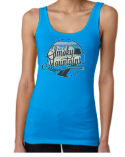 Great Smoky Mountain Women's Jersey Tank Top