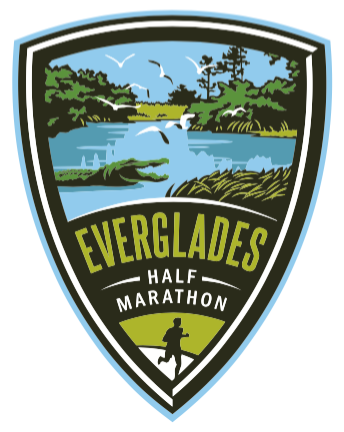 Everglades Half Marathon Decal Sticker