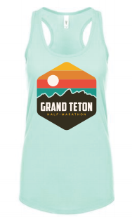 Grand Teton Hexagon Rainbow Women's Tank