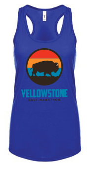 Yellowstone Bison Women's Racerback Tank