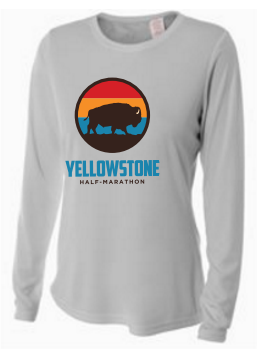 Yellowstone Bison Women's Long Sleeve Tech Shirt