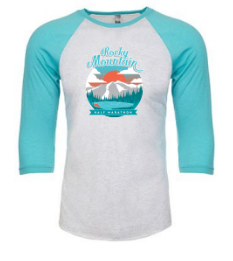 Rocky Mountain Sunset 3/4 Sleeve Raglan Shirt
