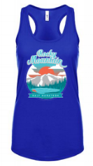 Rocky Mountain Half Sunset Women's Tank