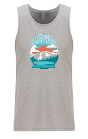 Rocky Mountain Sunset Men's Tank