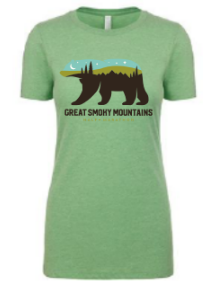 Great Smoky Mountain Bear Women's T-Shirt