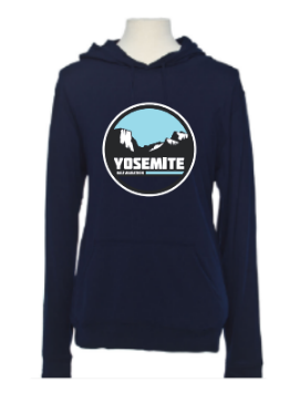 Yosemite Half Tunnel View Beach Hoodie
