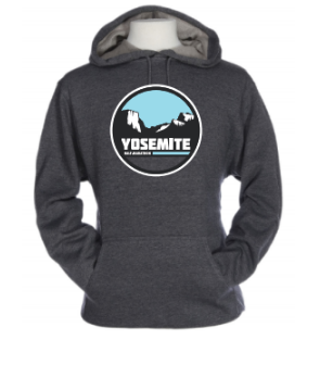 Yosemite Half Tunnel View Sweatshirt