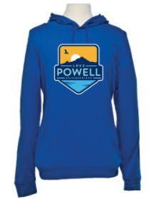 Lake Powell Bird and Sun Badge Beach Hoodie