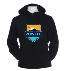 Lake Powell Bird and Sun Badge Sweatshirt