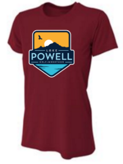 Lake Powell Bird and Sun Badge Short Sleeve Tech Shirt (Men's and Women's)
