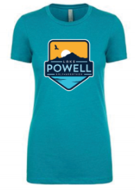 Lake Powell Bird and Sun Badge Women's T-Shirt