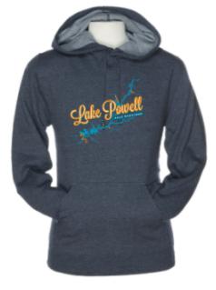 Lake Powell Map Sweatshirt