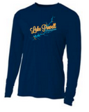 Lake Powell Map Long Sleeve Tech Shirt