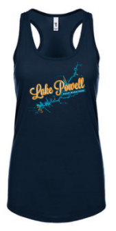 Lake Powell Map Women's Tank