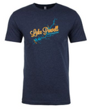 Lake Powell Map-Men's shirt