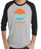 Lake Powell Circle Sunset Raglan Shirt
