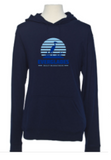 Everglades Great Heron Beach Hoodie