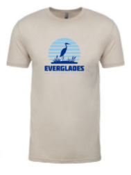 Everglades Great Heron Men's T-Shirt