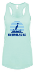 Everglades Great Heron Women's Racerback Tank