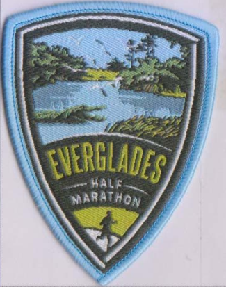 Everglades Half Marathon PATCH