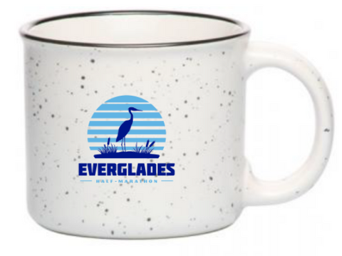 Everglades Great Heron Ceramic Mug