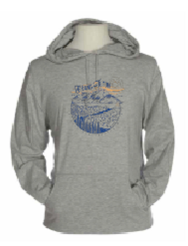 Grand Teton Snake River Overlook - Beach Hoodie