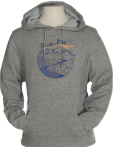 Grand Teton Snake River Overlook - Sweatshirt