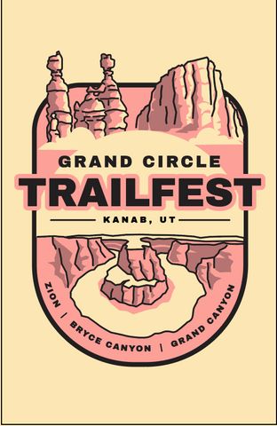 Grand Circle Trailfest Badge Sticker