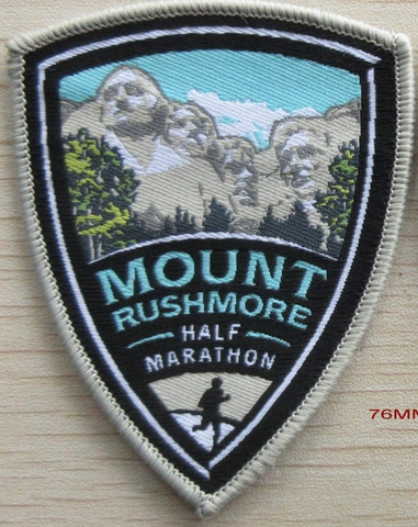 Mount Rushmore Half Marathon Patch
