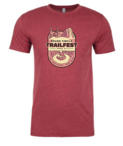 Grand Circle Trailfest Badge Design - Men's T-Shirt