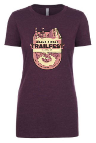 Grand Circle Trailfest Badge Design - Women's T-Shirt