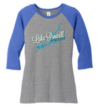 Lake Powell Map Raglan Shirt