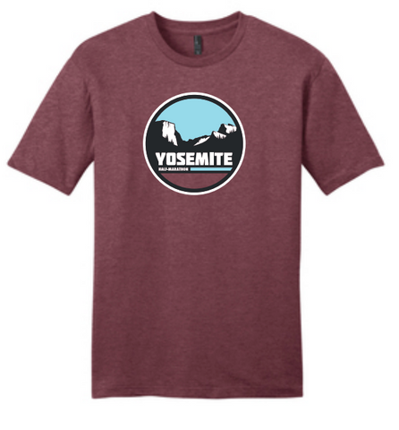 Yosemite Half Tunnel View Men's T-Shirt