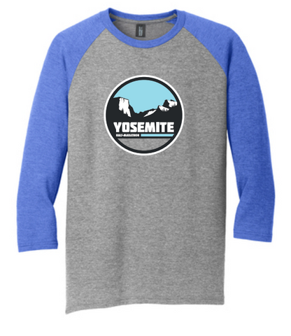 Yosemite Tunnel View Raglan Tee