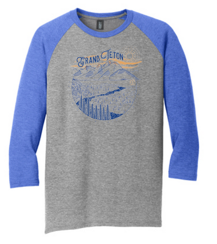 Grand Teton Snake Rive Overlook - Baseball Tees