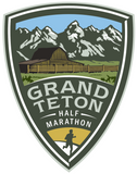 Grand Teton Half Marathon Decal Sticker