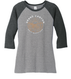 Grand Canyon Sun-3/4 Raglan T-Shirt
