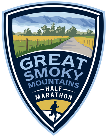 Great Smoky Mountain Half Marathon Sticker