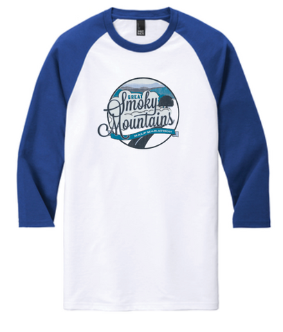 Great Smoky Mountains Raglan T-Shirt