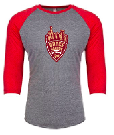 Bryce Canyon Logo Baseball T-Shirt