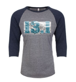 Glacier 13.1 Mountain Goat Baseball Tee